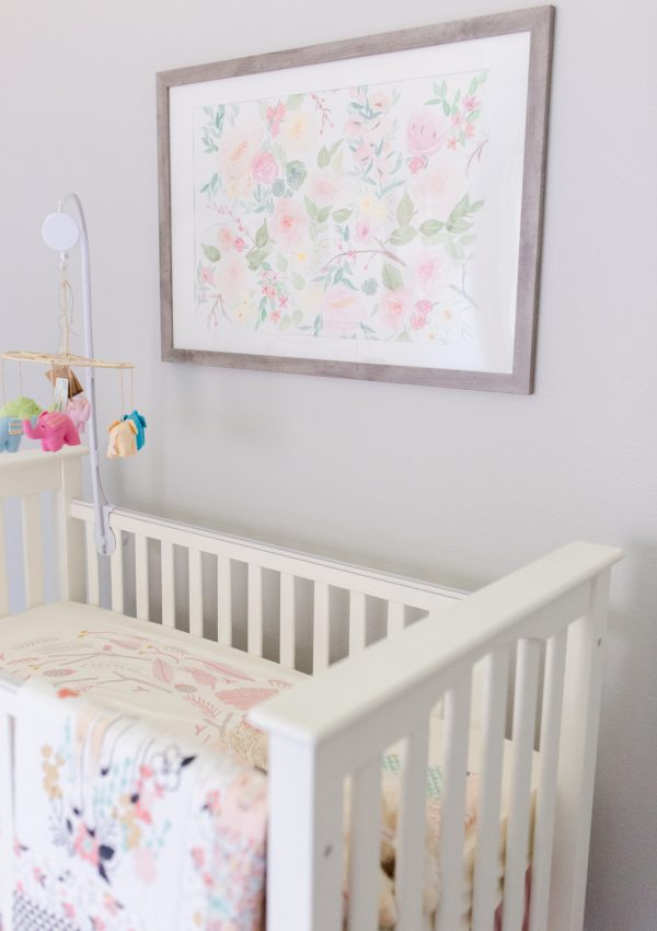 Juliet's Woodland Nursery Reveal