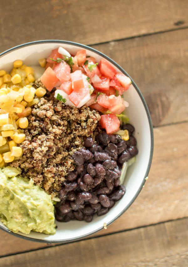 Taco Bowls at Home